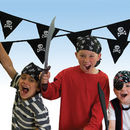 Pirate 'Skull And Crossbones' Cotton Bunting