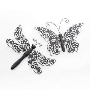 Dragonfly Or Butterfly Wall Decoration