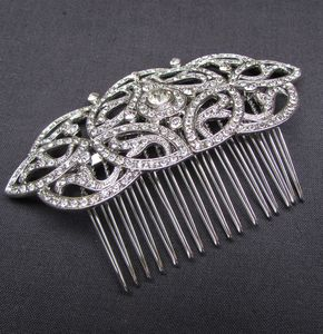 Deco Inspired Hair Comb - wedding fashion