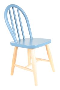 Kids Retro Chair In Blue