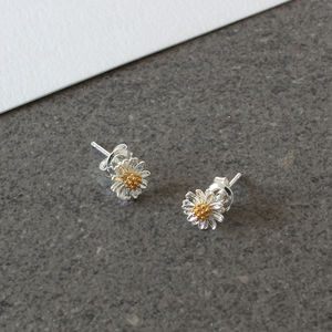 Wildflower Daisy Earrings - children's jewellery
