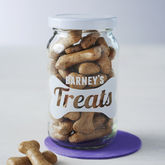 Personalised Pet Treats Storage Jar - pets