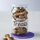 Personalised Pet Treats Storage Jar - pets