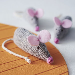 Catnip Mouse - cat toys