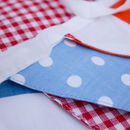Summer Festival Retro Cotton Bunting