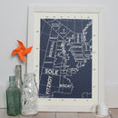 Shipping Forecast Limited Edition Screen Print