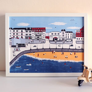 Margate Cityscape Print - drawings & illustrations