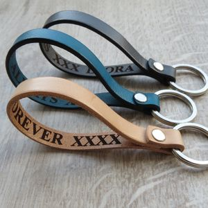 Secret Message Key Ring - gifts for him