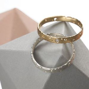 Precious Ring Set With Diamonds - engagement rings