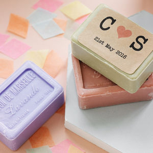 Personalised Soap Favour