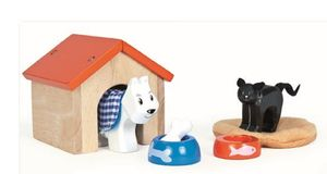 Wooden Pet Set - traditional toys & games