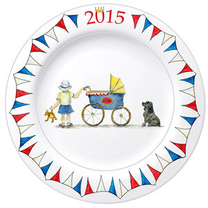New Royal Baby Plate