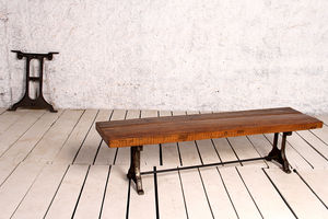 Hyatt Radcliffe Industrial Dining Bench