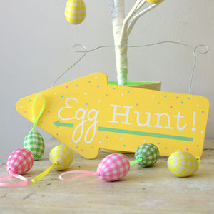 Easter Egg Hunt Arrows - easter decorations