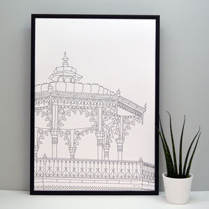 Brighton Bandstand Print - prints & art