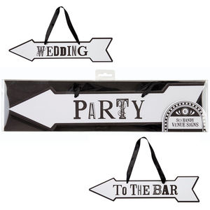 Wedding Party Signs - signs