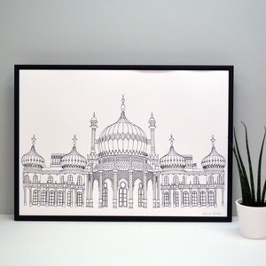 Brighton Pavilion Print