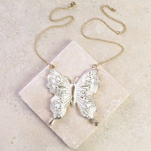 Statement Butterfly Necklace - statement necklaces