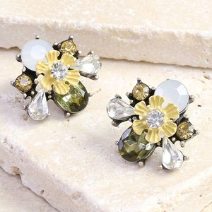 Statement Buttercup Earrings - earrings