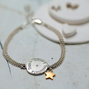 Personalised Sequin Bracelet - jewellery gifts for friends