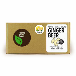 Make Your Own Ginger Beer With Lemon Kit - make your own kits