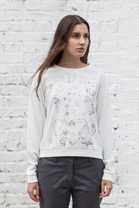 Secret Garden Sweat Top Made In The UK