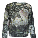 Blossom Print Sweat Top Made In The UK