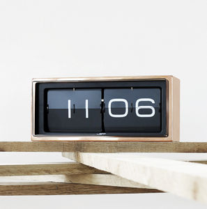 Handmade Flip Clock - kitchen