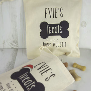 Bone Appetit Treat Bag - gifts for pets