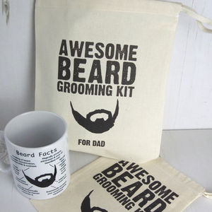 Awesome Beard Grooming Kit Bag