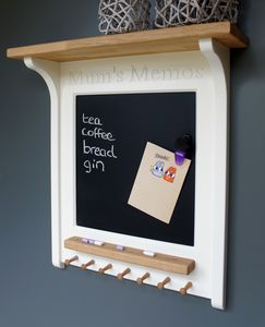 Mum's Memos Magnetic Chalk Board