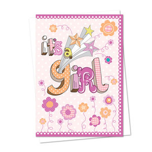 New Baby Boy / Girl Card - winter sale