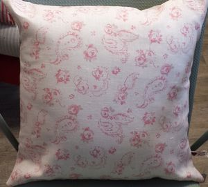 Evelina Linen Cushion - cushions