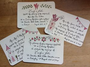 10 Wedding Evening Invitations - cards & invitations