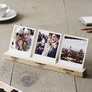 Personalised Wedding Timeline Photo Block