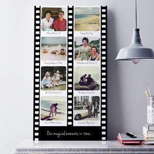 Personalised Film Strip Photo Art - photography & portraits