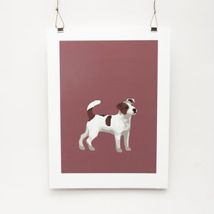 Jack Russell Print