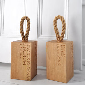 Father's Day Doorstop - door stops & draught excluders