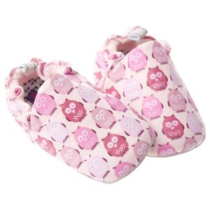Pink Owl Baby Shoes - shoes & footwear