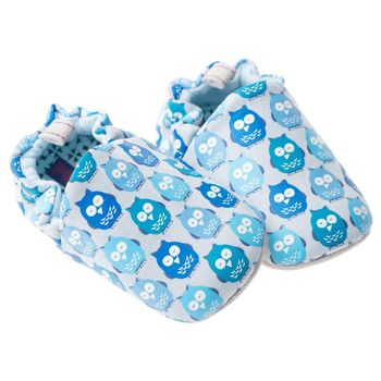 Blue Owl Baby Shoes