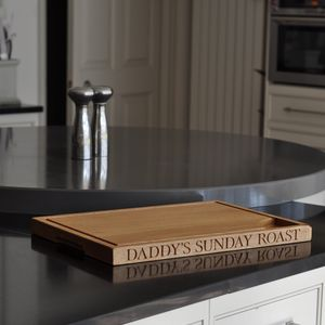 Father's Day Carving Board - kitchen