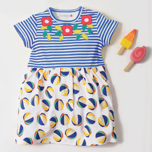 Beachball Print Dress