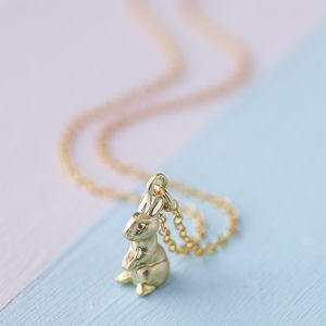 Easter Bunny Necklace - necklaces & pendants
