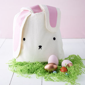 Easter Egg Hunt Bunny Bag - easter egg hunt