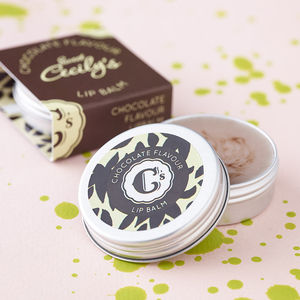 Chocolate Flavour Lip Balm - stocking fillers