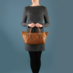 Handmade Leather 'Poppy' Bag - bags & purses