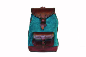 Bamba Backpack Turquoise - women's accessories