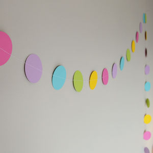 'Easter Confetti' Paper Garland - easter decorations
