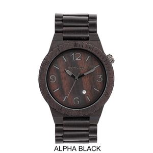 Alpha Wooden Watch - men's accessories