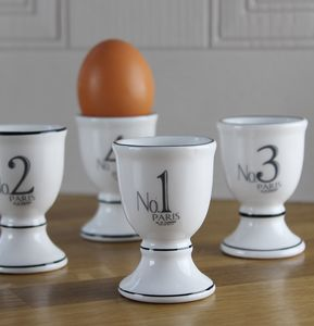 Paris Small Egg Cups Set
